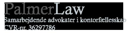 Palmerlaw Advokatfirma Logo
